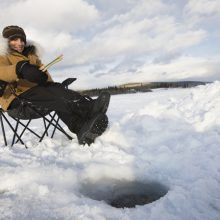 new ice fishing gear and gadgets